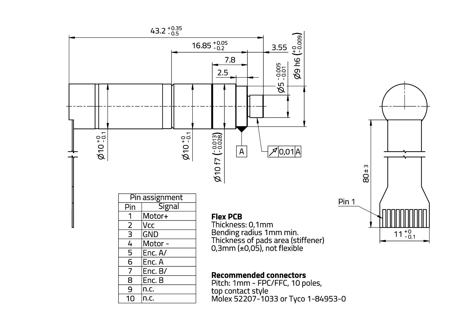 MaalonDrive® HighAcc 10mm - Type 6