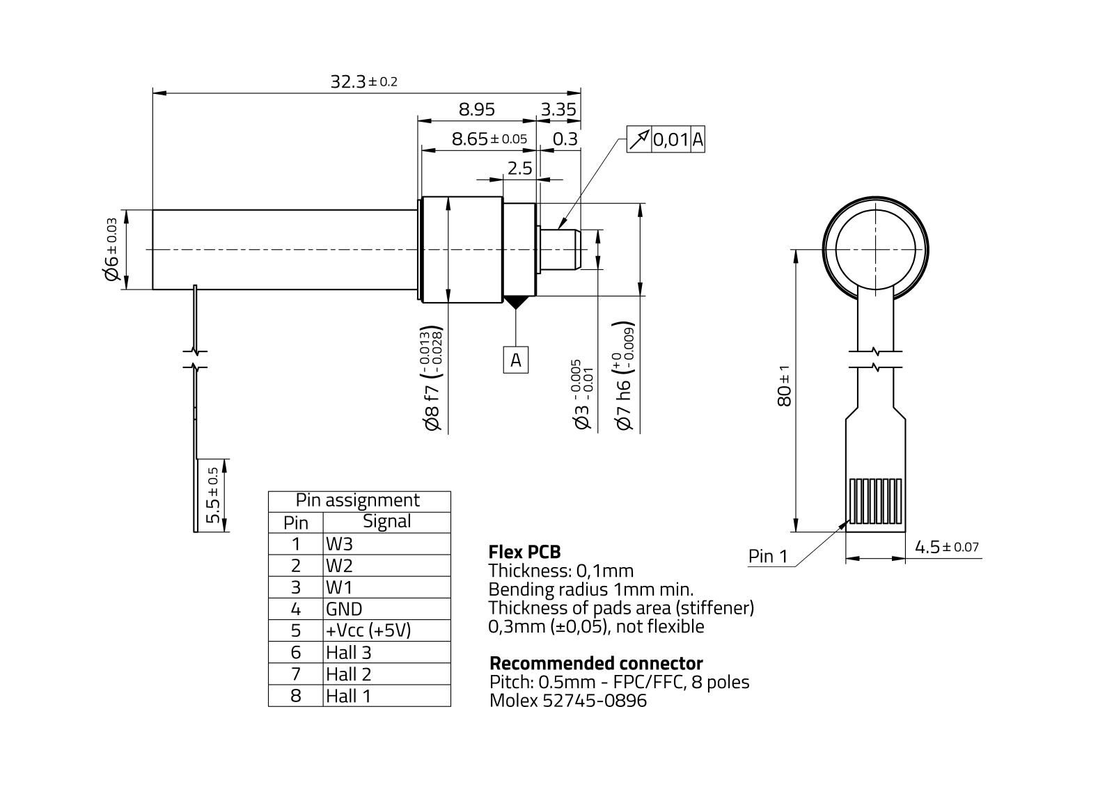 MaalonDrive® HighAcc 8mm - Type 3