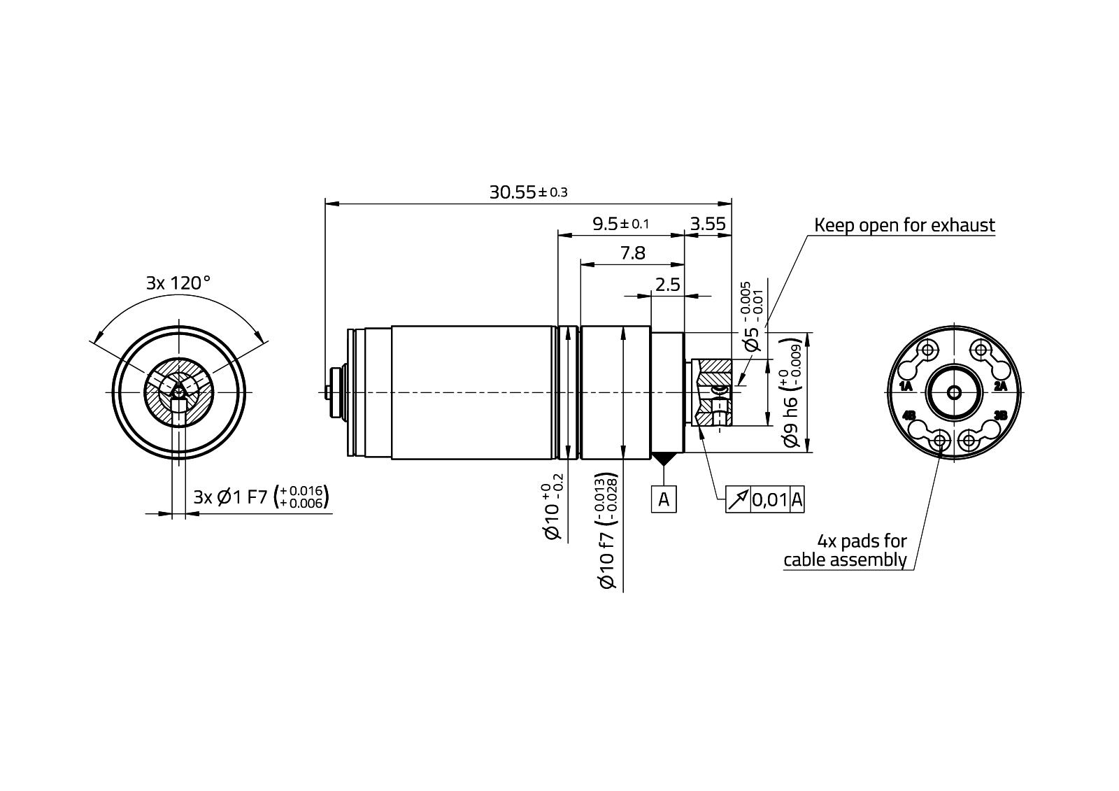 CoograDrive® SpecialShaft 10mm - Type 2