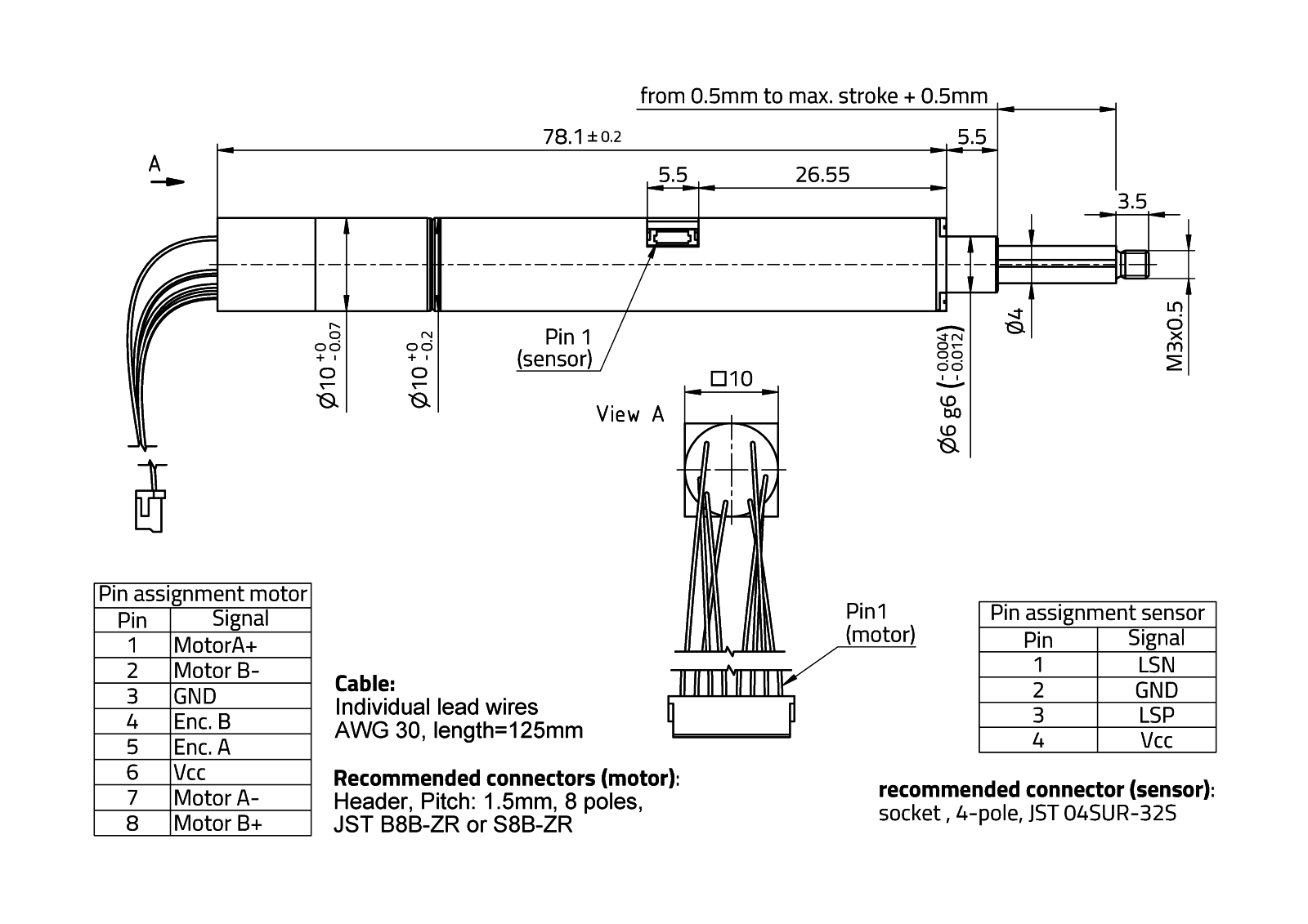 Rasuundrive Highacc 10mm Type 7 Micromotion Micro Motion Wiring Diagram Technical Drawing
