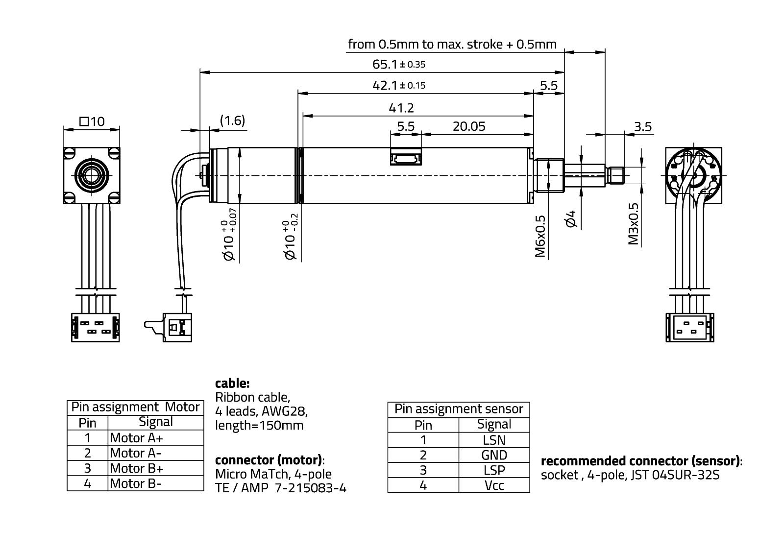 RasuunDrive® HighRes 10mm - Type 1