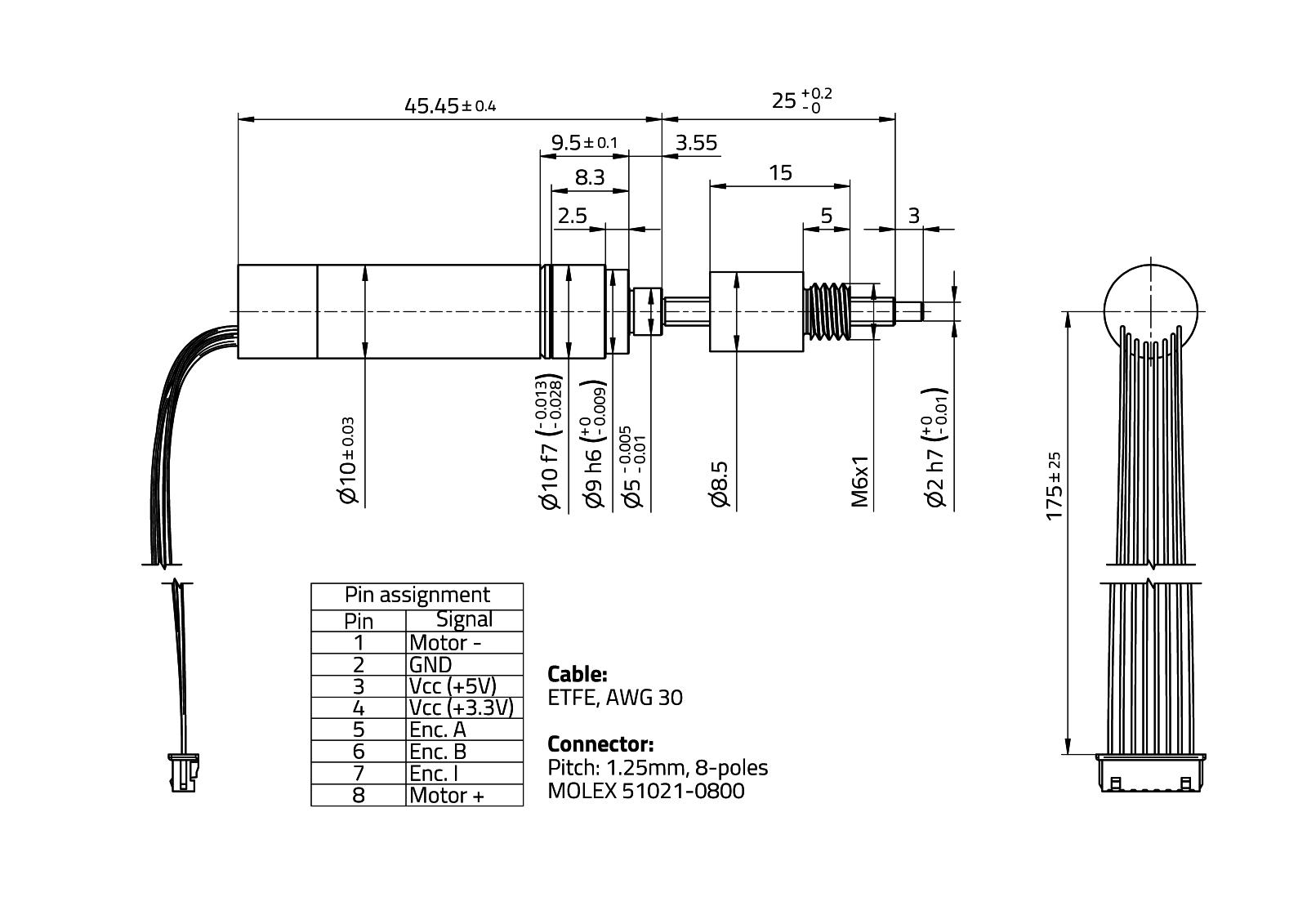 RasuunDrive® BallScrew 10mm - Type 7