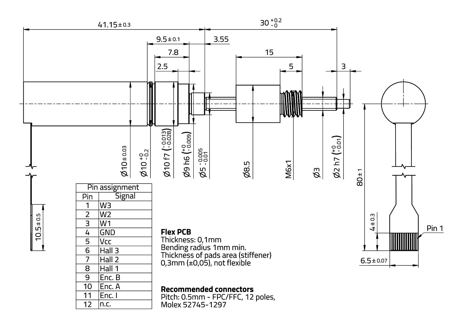 RasuunDrive® BallScrew 10mm - Type 12
