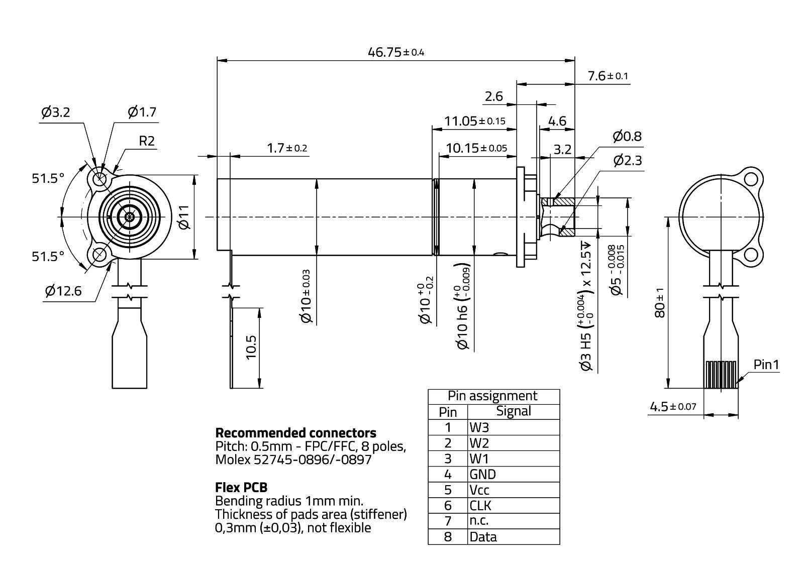 CoograDrive® Space 10mm - Type 7