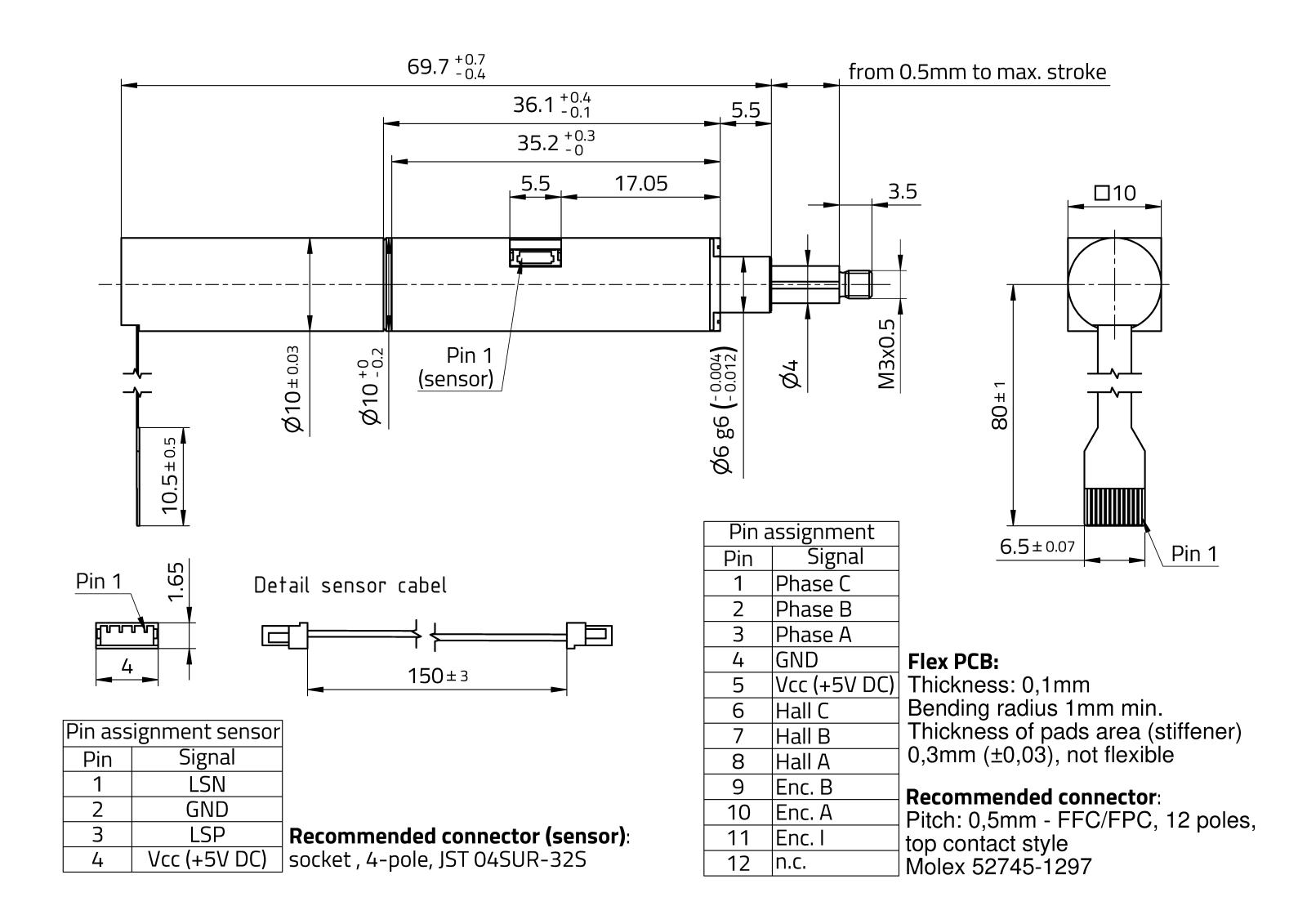 RasuunDrive® HighSpeed 10mm - Type 8