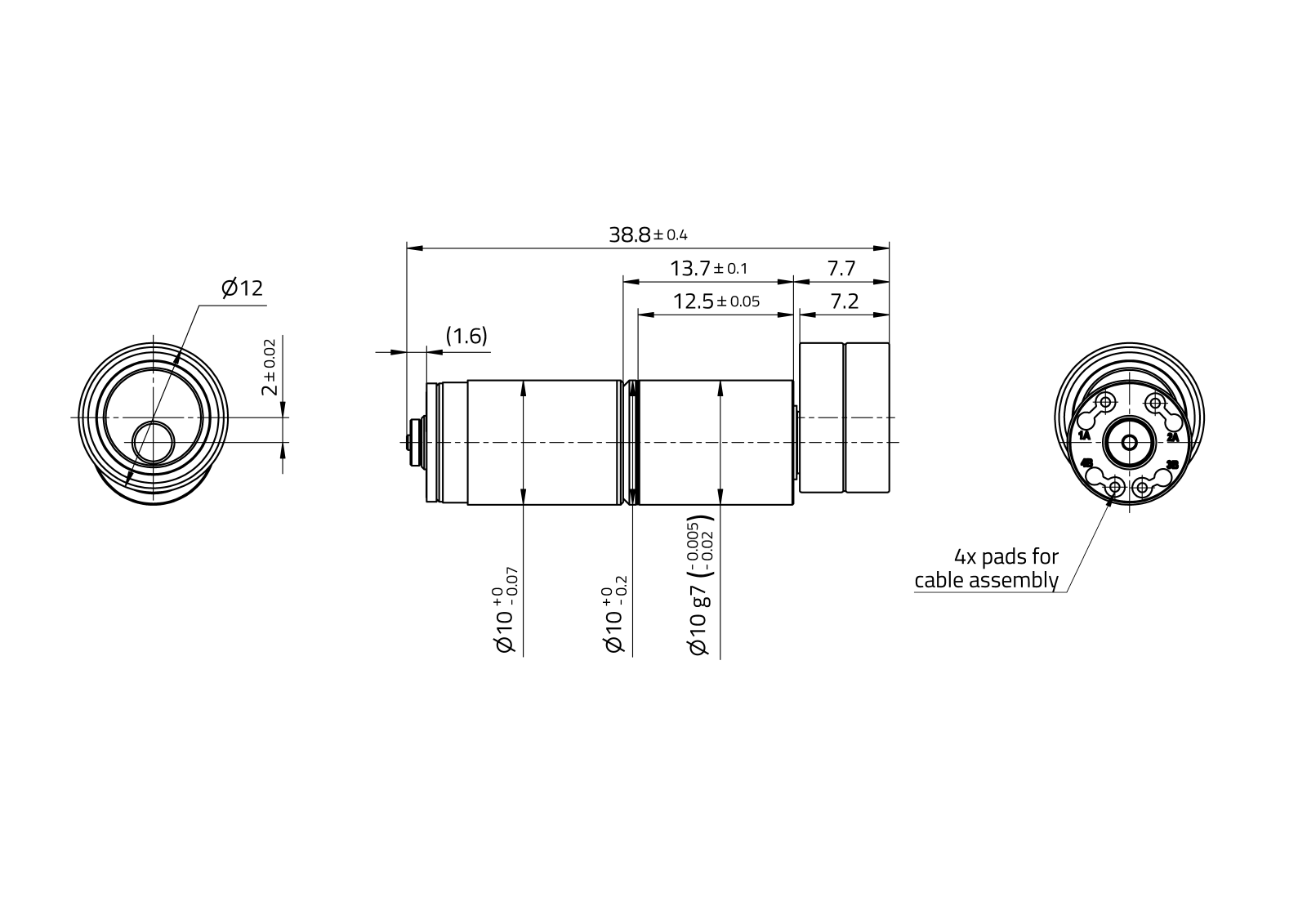 KeevoDrive® HighRange 10mm - Type 2