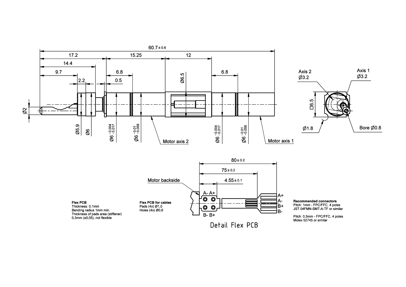 BryleeDrive® HighAcc 6mm - Type 1