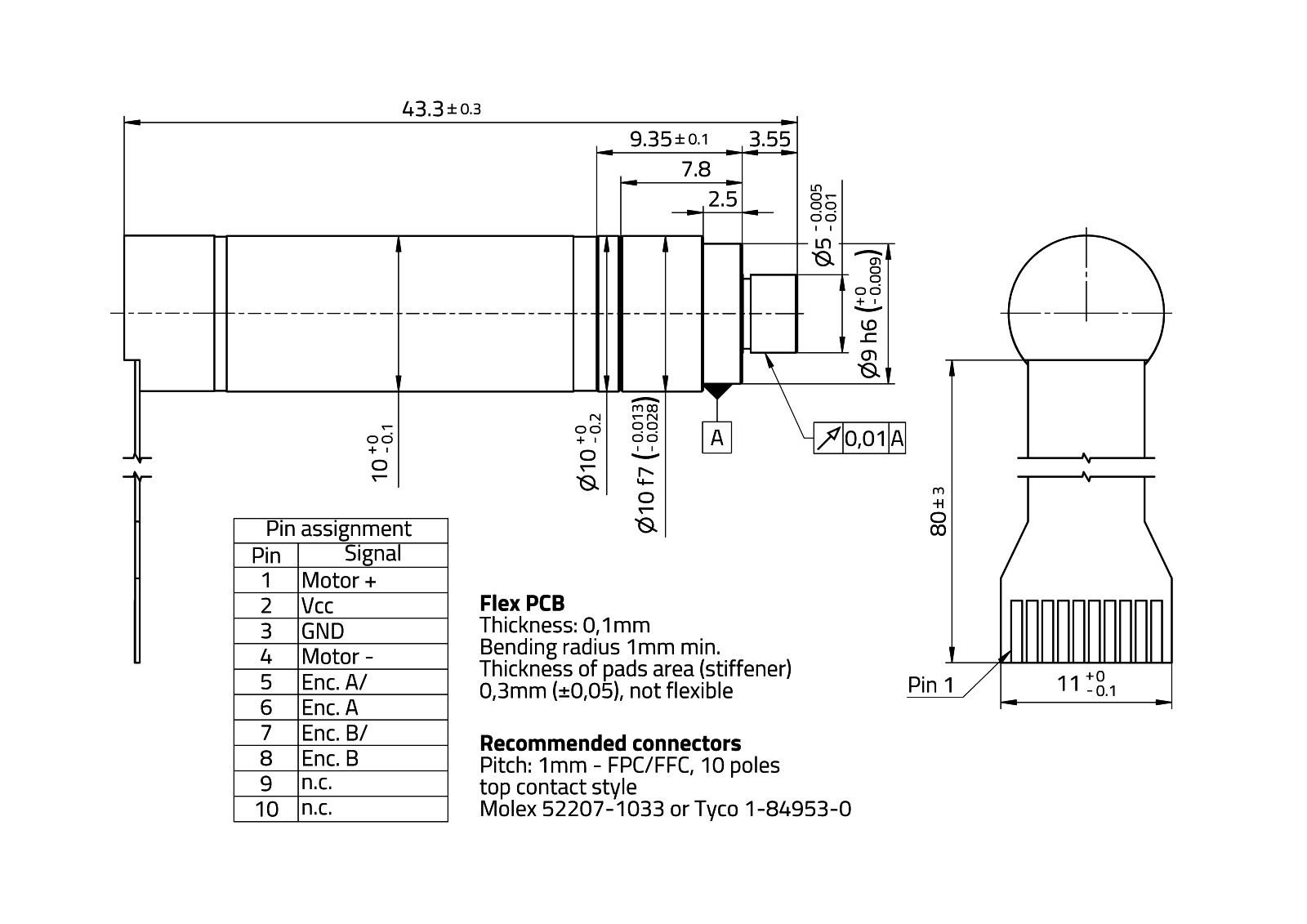 MaalonDrive® HighAcc 10mm - Type 4